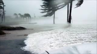 Déšť Zvuky pro hluboké spaní , búrka, vítr . Zvuky deště  bouřka moře
