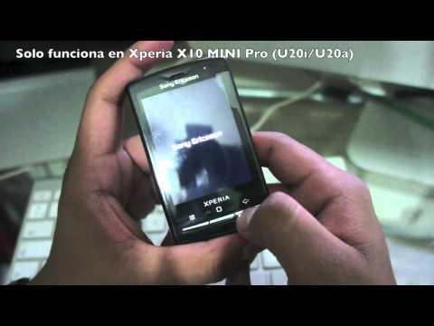 Instalar Android 2.3.7 en Xperia X10 Mini Pro [Actualizado y funcional]