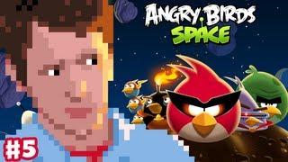 Angry Birds Space - Gameplay Walkthrough Part 5 - Terrance the Big Green Brother Bird