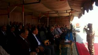 Minister of Higher Education and university presidents in the new Suez Canal