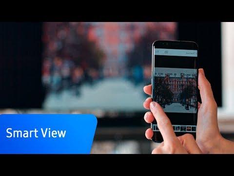 Как подключить смартфон к телевизору с помощью приложения Smart View