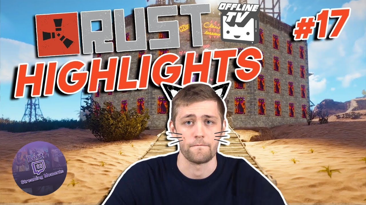 Sodapoppin & Kittens are done with Rust | OTV Rust Server Highlights #17