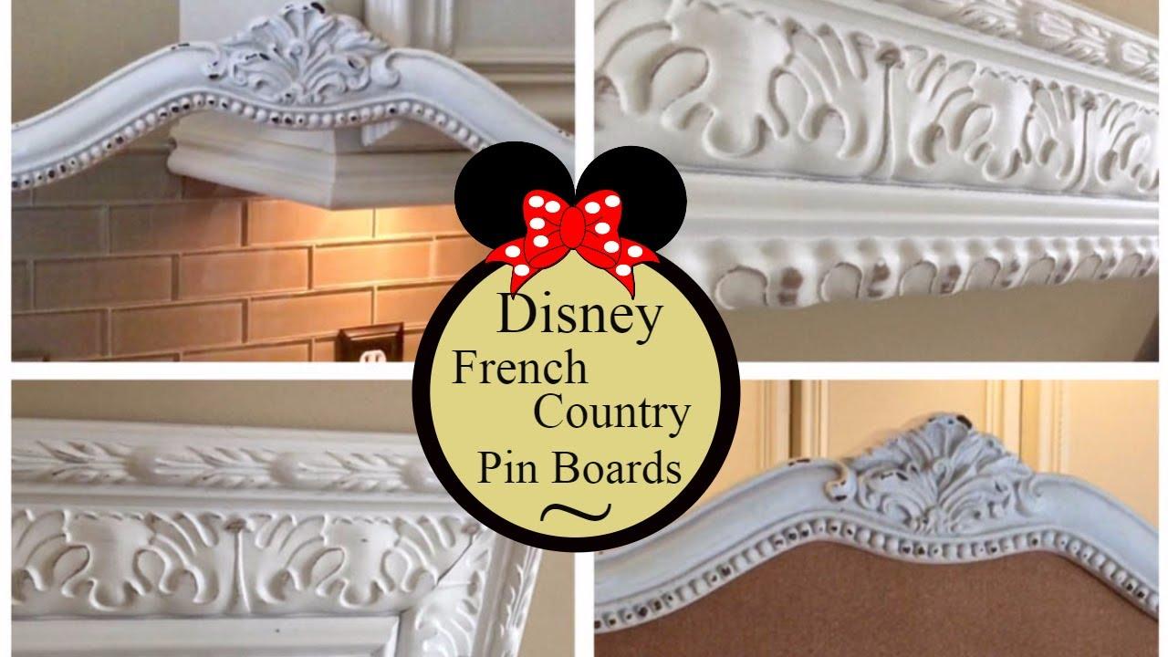 DIY ! How To Make A Disney Pin Cork Board ! Disney Fun With Grown Up ...