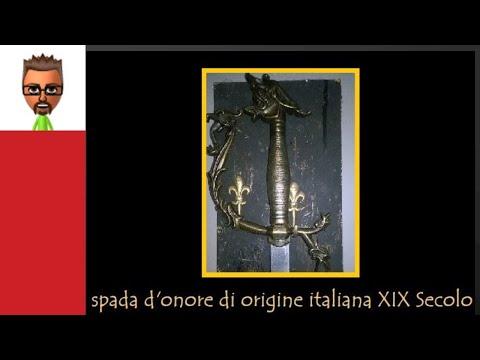 Spada Italiana XIX Secolo