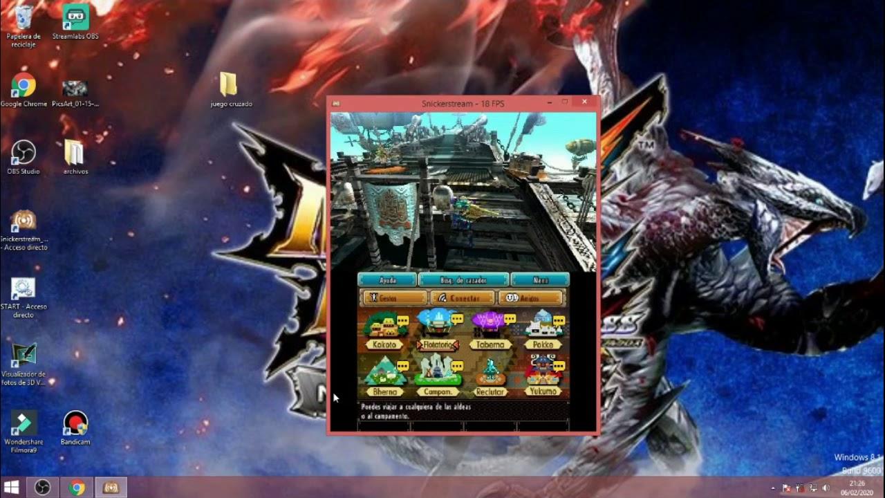 MHGU ~ MHXX Crosplay ( Juego Cruzado 3ds- Switch) Tutorial Monsther Hunter - YouTube