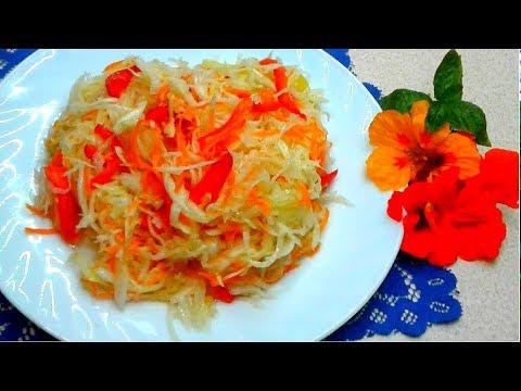 Вкуснейшая маринованная капуста БЫСТРАЯ НА ПРАЗДНИЧНЫЙ СТОЛ 2020 .Вкусный салат на каждый день!
