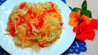 Вкуснейшая маринованная капуста БЫСТРАЯ нА ПРАЗДНИЧНЫЙ СТОЛ 2019 .Вкусный салат на каждый день!