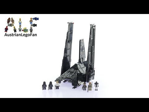 Lego Star Wars 75156 Krennic's Imperial Shuttle - Lego Speed Build Review