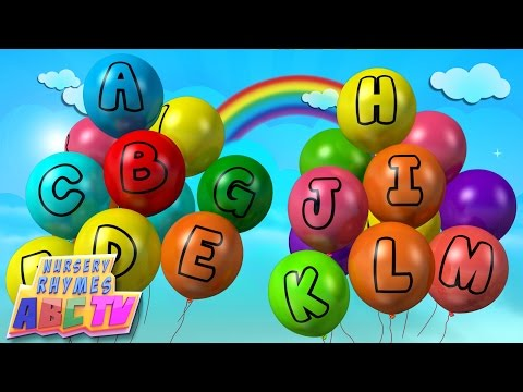 ABC Song | Alphabets on Balloons | Alphabets song | Learn Alphabets
