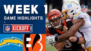 Chargers vs. Bengals Week 1 Highlights | NFL 2020