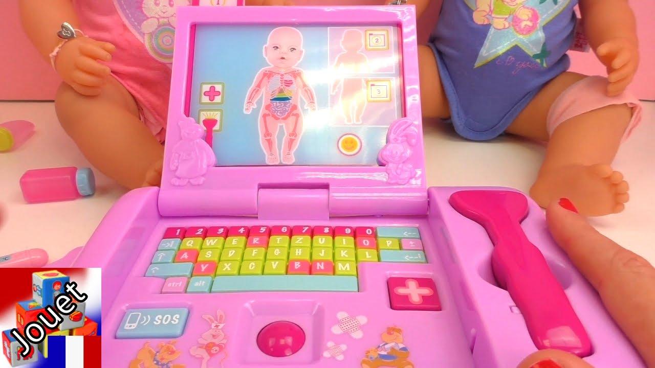 Malette de m decin baby born jouet de m decin baby for Malette couture pour fille