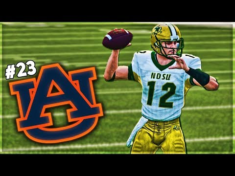 North Dakota State Takes On First Ranked Team In Auburn! | NCAA 14 Dynasty Ep 5