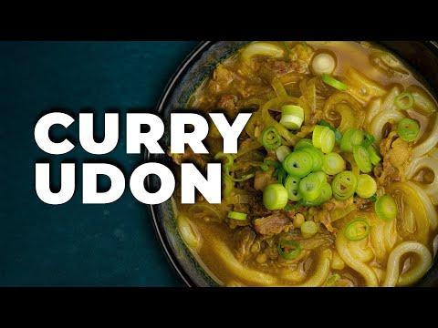 Receta Curry Udon ➡ Lo mejor del curry y del udon en un bol | Cocina Japonesa