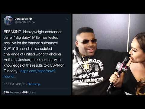 """""""BIG BABY"""" JARRELL MILLER FAILS DRUG TEST! JUNE 1ST FIGHT VS. ANTHONY JOSHUA IN JEOPARDY!"""