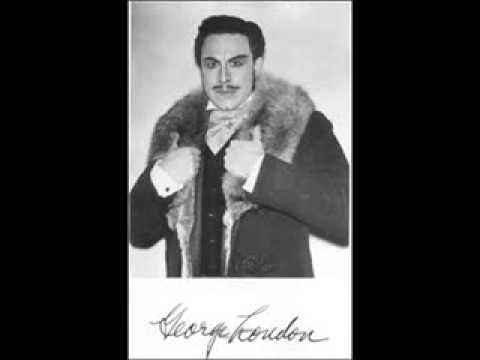 """George London Sings """"Credo in un Dio Crudel,"""" From Verdi's Otello"""