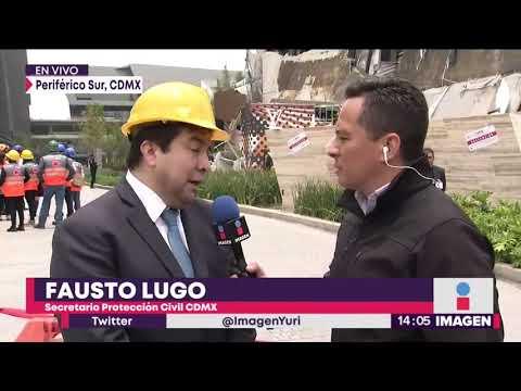 ¡Hay saldo blanco en el derrumbe de la plaza Artz Pedregal! | Noticias con Yuriria Sierra