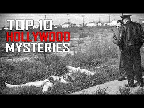 Top 10 Unsoloved Hollywood Mysteries