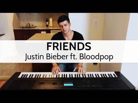 """Friends"" - Justin Bieber ft. Bloodpop (Piano Cover) by Niko Kotoulas"