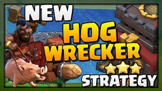 New HOG WRECKER Attack Strategy at Town Hall 10 in Clash of Clans | Best TH10 Attack Strategy!