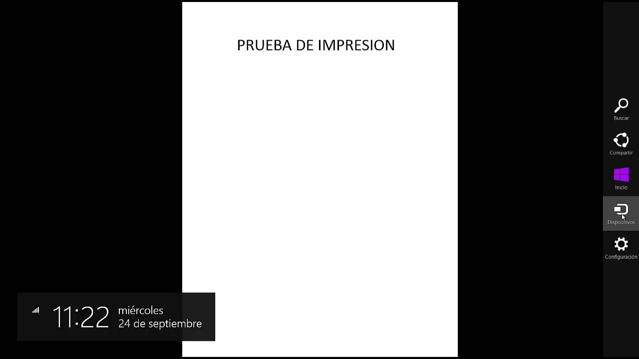 Como imprimir documentos PDF con Windows 8 - YouTube