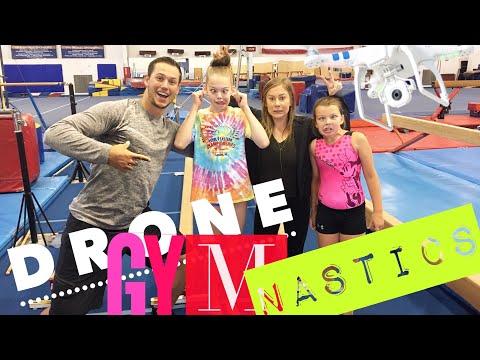 Drone Gymnastics with Whitney Bjerken!!!   Shawn Johnson