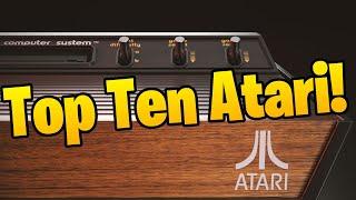 Los Mejores 10 Juegos del Atari 2600, Gameplay y Cajas