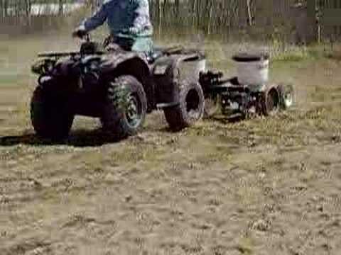 Row Model 2 Food Atv Plot Planter Planting A Food Plot