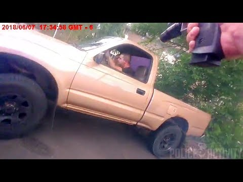 Bodycam Shows Louisville Police Officer Firing at Fleeing Driver (WARNING - GRAPHIC CONTENT)