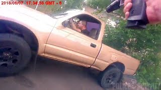 Video Bodycam Shows Louisville Police Officer Firing at Fleeing Driver (WARNING - GRAPHIC CONTENT) download MP3, 3GP, MP4, WEBM, AVI, FLV Agustus 2018