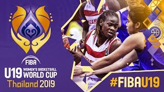Mozambique v Thailand - Full Game - FIBA U19 Women's Basketball World Cup 2019
