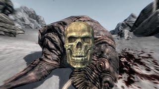 The Elder Scrolls V: Skyrim. Четыре черепа в брюхе у хоркера. Прохождение от SAFa