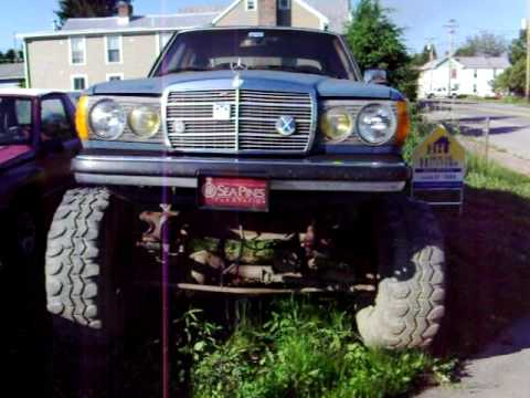 Mercedes Body Placed Atop a 4x4 Frame- Beverly, WVa - YouTube