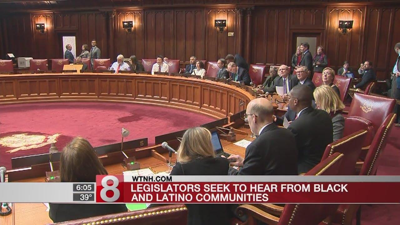 Legislators seek to hear from black and Latino communities - Dauer: 27 Sekunden
