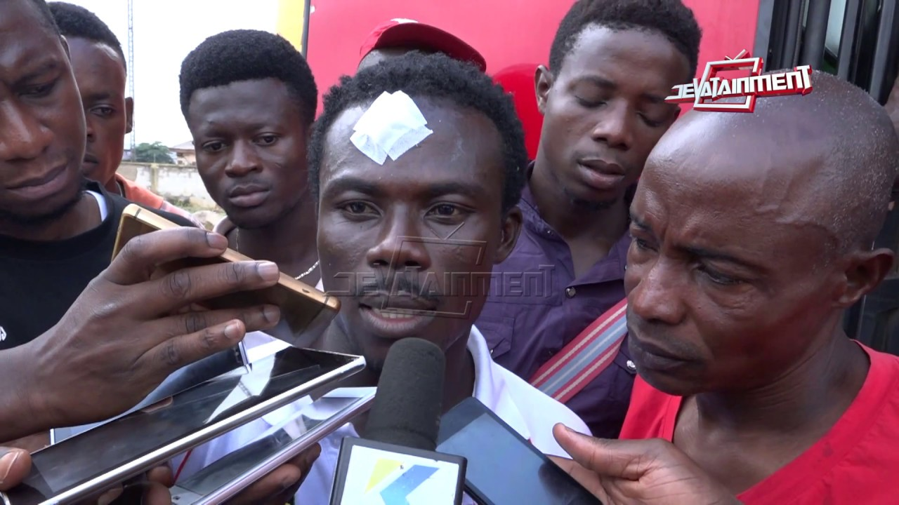 Kotoko players narrate how the accident occured @ Nkawkaw