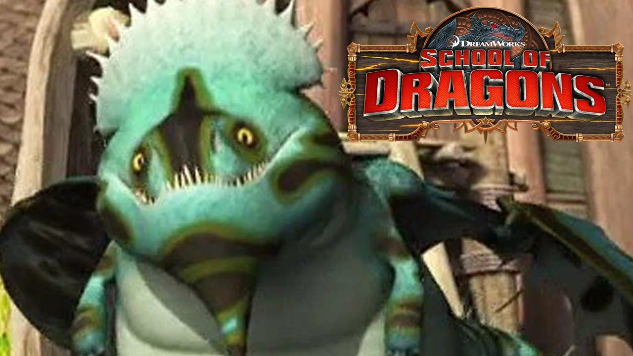 School Of Dragons Dragons 101 The Shovelhelm Youtube