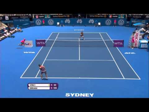 Sara Errani 2014 Apia International Sydney Hot Shot