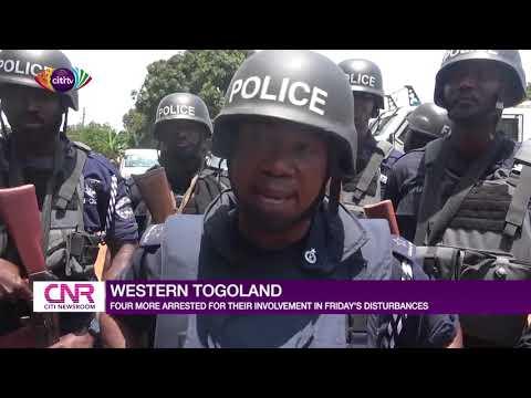 Four more arrested for involvement in Western Togoland disturbances | Citi Newsroom