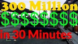 GTA 5 Geld und Aktien, 300 Mio Dollar in 30 Minuten,GTA V, Deutsch,GTA 5 Aktienhandel 300% Gewinn