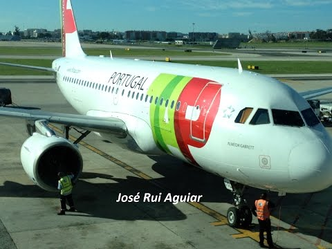 Flight TAP Portugal Airbus A319 Lisbon Airport to Madeira Airport