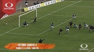 Futbol Retro: Pumas 3-3 León - Temporada 1994-95 | Televisa Deportes