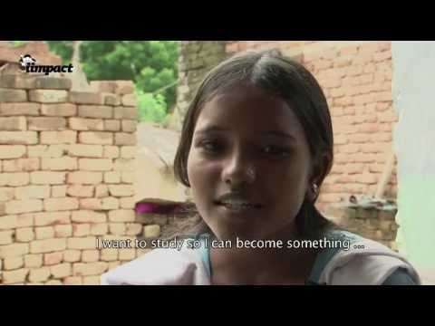 IIMPACT -making a difference.  Educating the girl child in rural India