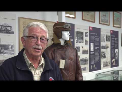 ROYAL FLYING CORPS (RFC) MUSEUM COLLECTION AT OLD SARUM NEAR SALISBURY.