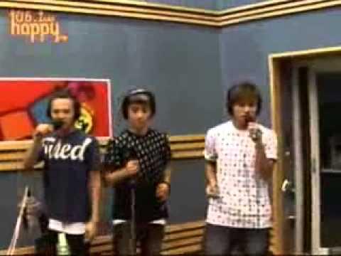 BigBang - Lies Funny Radio Performance!