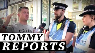 "Tommy Robinson: Carlisle police ""interfering with an election campaign"" | Jessica Swietoniowski"