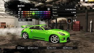 NFS Most Wanted (Online/CP 1.4) - Added Car #1 - 2003 Nissan Fairlady Z/350Z (Z33)