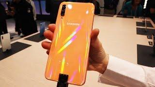 Samsung Galaxy A50 ön inceleme | Orta seviye S10!