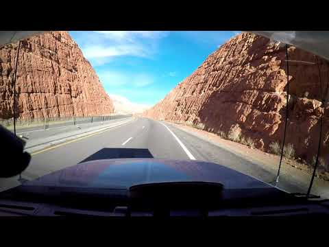 The Drive and Sights from Las Vegas To Beryl Junction Nevada 01 27 2018