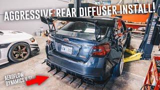 widebody-wrx-gets-aggressive-rear-diffuser-aeroflow-dynamics-install