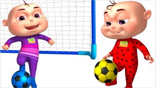 Color Learning With FootBall | Learn Colours For Kids | Zool Babies Learning | Learning For Babies