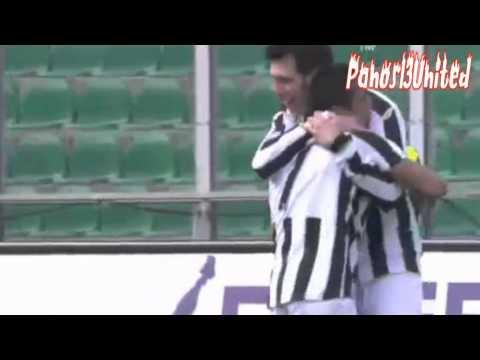 Alexis Sanchez amazing goal vs Palermo